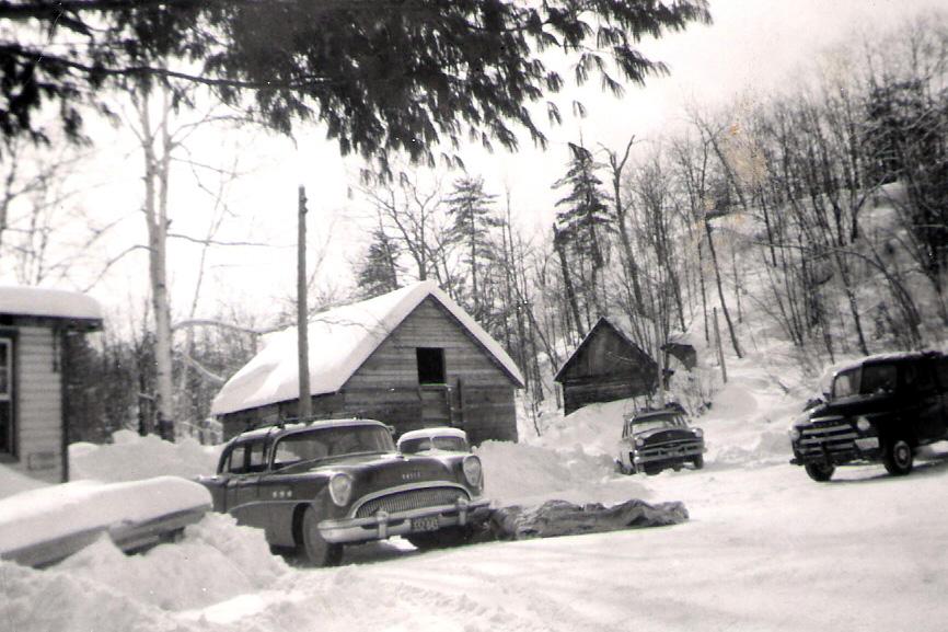 ice hut and barn
